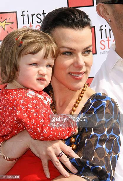 Debi Mazar and daughter, Giulia Isabel Mazar-Corcos