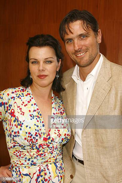 Debi Mazar and James Ferragamo during Kelly Lynch and Lisa Love Host a Lunch in Honor of James Ferragamo at Private Home in Los Angeles California...