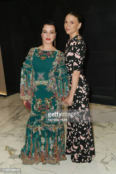 """Debi Mazar and Sutton Foster Attends the screening of """"Younger"""" Season 6 New York Premiere at William Vale Hotel on June 04, 2019 in New York City."""