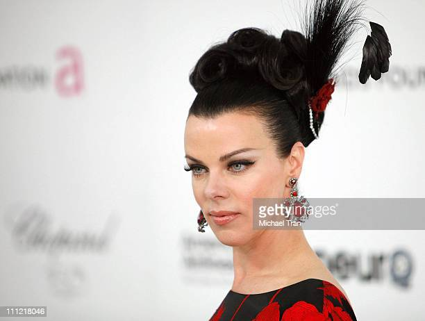 Debi Mazar arrives to the 18th Annual Elton John AIDS Foundation Academy Awards Viewing Party held at Pacific Design Center on March 7 2010 in West...