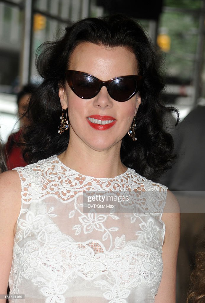 Debi Mazar as seen on July 28, 2013 in New York City.
