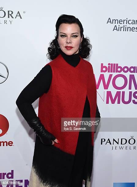 Debi Mazar attends Billboard Women In Music 2016 airing December 12th On Lifetime at Pier 36 on December 9 2016 in New York City