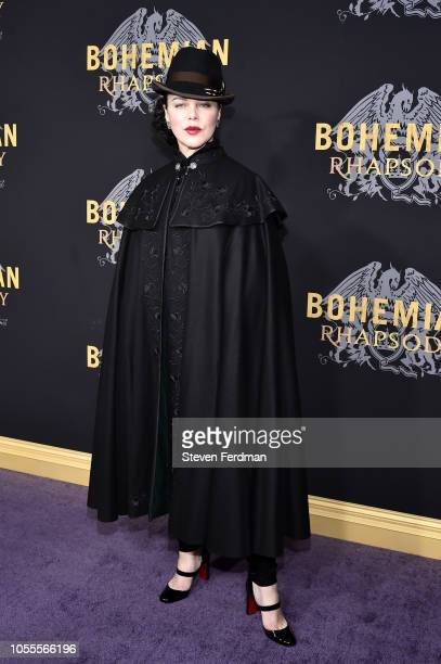 Debi Mazar attends Bohemian Rhapsody New York Premiere at The Paris Theatre on October 30 2018 in New York City