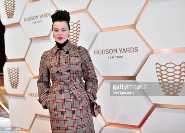 Debi Mazar attends Hudson Yards, New York's Newest Neighborhood, Official Opening Event on March 15, 2019 in New York City.