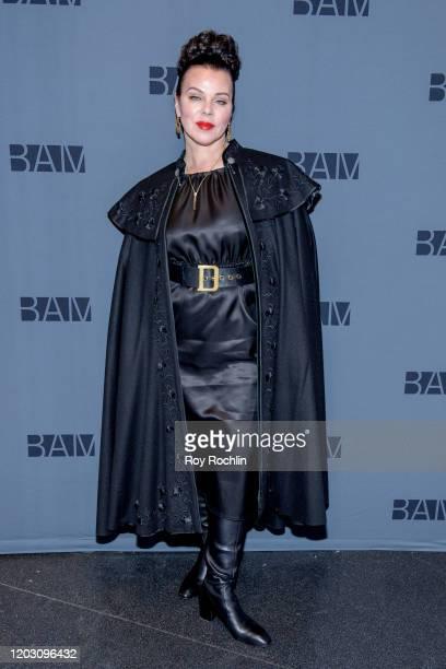 "Debi Mazar attends ""Medea"" Opening Night at BAM Harvey Theater on January 30, 2020 in New York City."