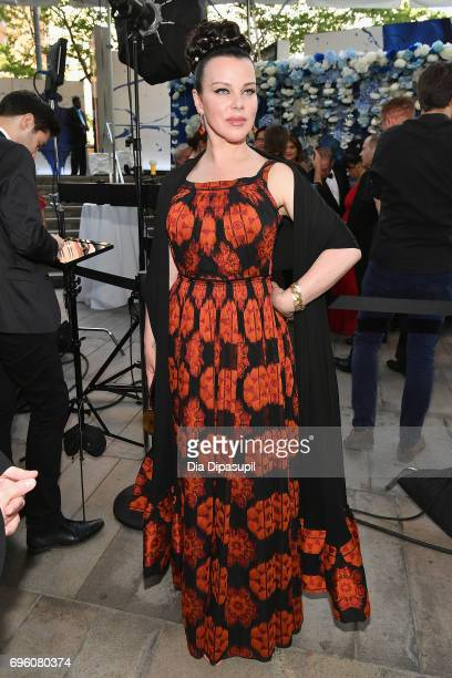 Debi Mazar attends the 2017 Fragrance Foundation Awards Presented By Hearst Magazines at Alice Tully Hall on June 14 2017 in New York City