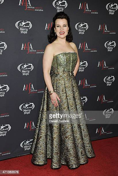 Debi Mazar attends the AAFA American Image Awards at 583 Park Avenue on April 27 2015 in New York City