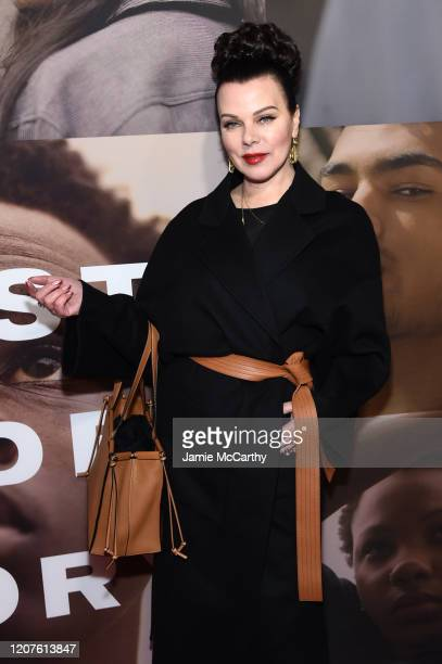 """Debi Mazar attends the opening night of """"West Side Story"""" at Broadway Theatre on February 20, 2020 in New York City."""