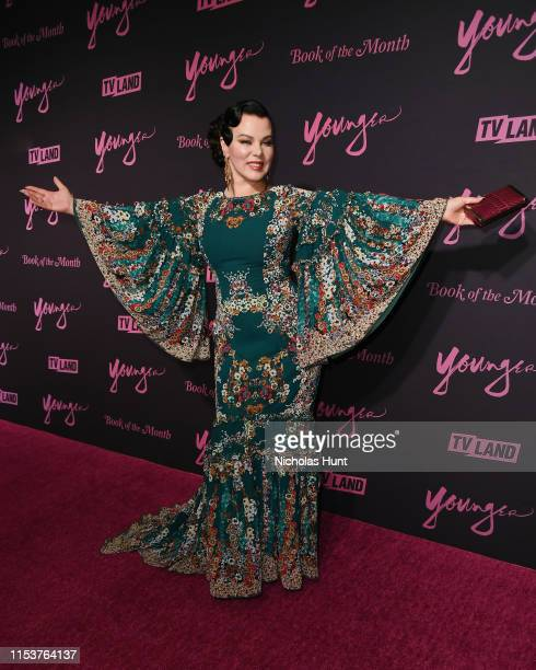 """Debi Mazar attends the screening of """"Younger"""" Season 6 New York Premiere at William Vale Hotel on June 04, 2019 in New York City."""