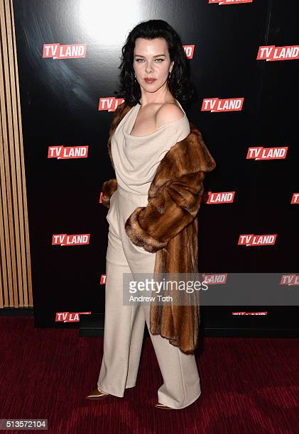 Debi Mazar attends the Viacom Kids and Family Group Upfront event at Frederick P. Rose Hall, Jazz at Lincoln Center on March 3, 2016 in New York City.