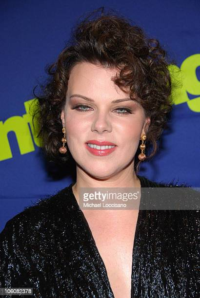 Debi Mazar during Entourage Season Three New York Premiere Arrivals at Skirball Center for the Performing Arts at NYU in New York City New York...