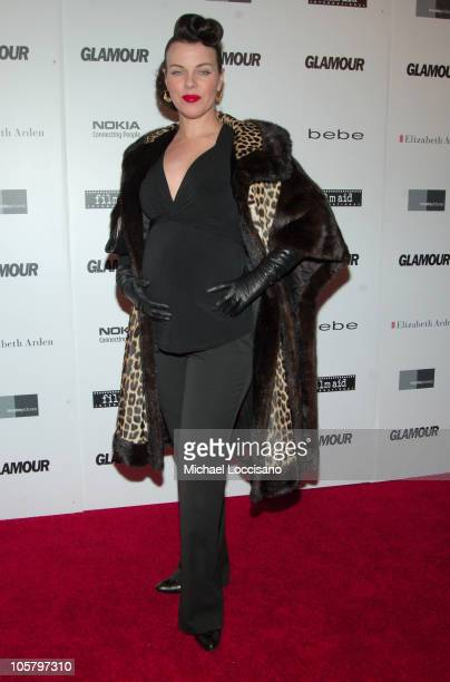Debi Mazar during Glamour 'Reel Moments' Short Film Series World Premiere at US Union Square Stadium 14 in New York City New York United States