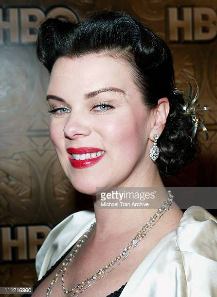 Debi Mazar during HBO 2006 Golden Globes After Party - Arrivals at Beverly Hills Hilton in Beverly Hills, California, United States.