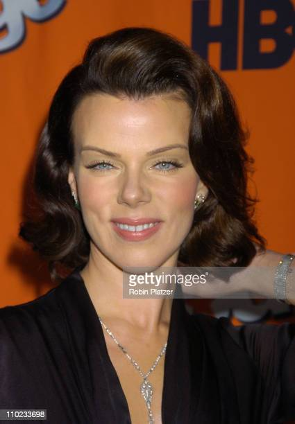 """Debi Mazar during HBO's """"Entourage"""" Season 2 New York City Premiere - Outside Arrivals at The Tent at Lincoln Center Damrosch Park in New York City,..."""