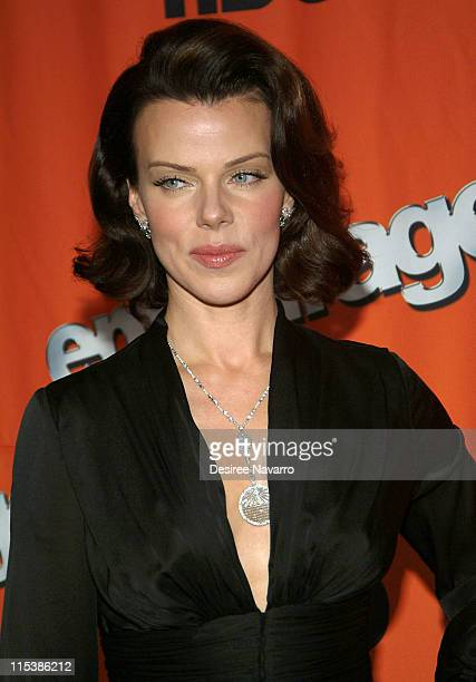 """Debi Mazar during HBO's """"Entourage"""" Season 2 New York City Premiere - Arrivals at The Tent at Lincoln Center in New York City, New York, United..."""