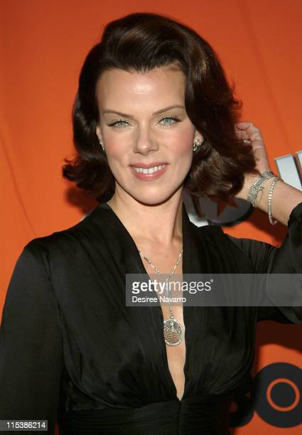 Debi Mazar during HBO's 'Entourage' Season 2 New York City Premiere Arrivals at The Tent at Lincoln Center in New York City New York United States