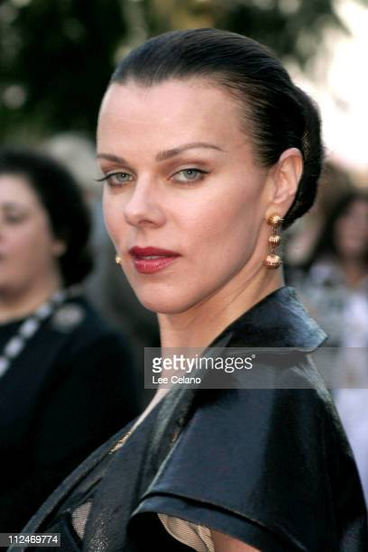 Debi Mazar during HBO's 'Rome' Los Angeles Premiere Red Carpet at Wadsworth Theatre in Los Angeles California United States