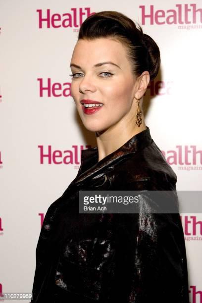 Debi Mazar during Health Magazine's 7th Annual Health Beauty Awards Luncheon at Madarin Oriental Hotel in New York City, New York, United States.