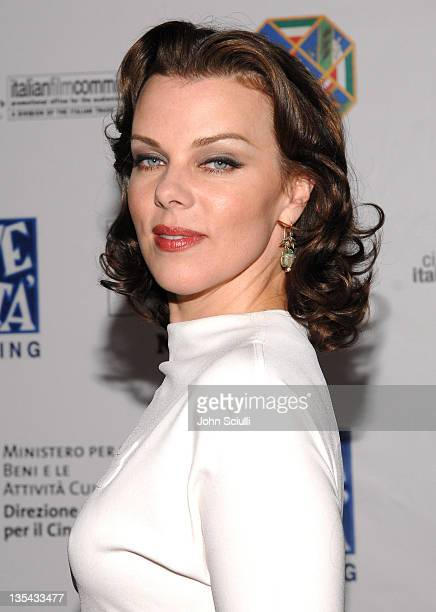 Debi Mazar during Opening Gala of 'Cinema Italian Style New Films from Italy' at Egyptian Theatre in Los Angeles California United States