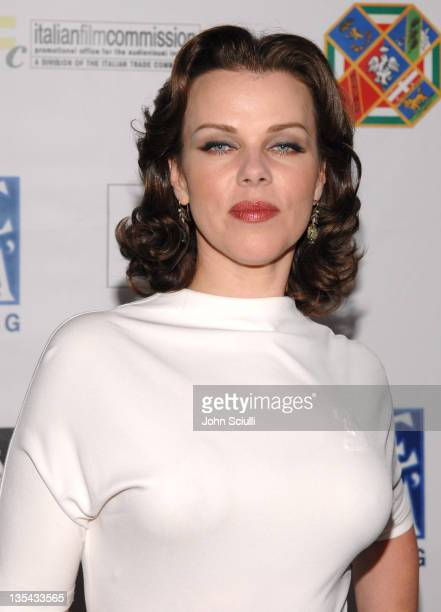 """Debi Mazar during Opening Gala of """"Cinema Italian Style: New Films from Italy"""" at Egyptian Theatre in Los Angeles, California, United States."""