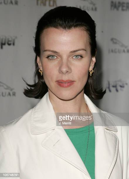 """Debi Mazar during Paper Magazine and Jaguar 2005 Celebrate the 8th Annual """"Beautiful People"""" Issue at Roosevelt Hotel Hollywood in Hollywood,..."""