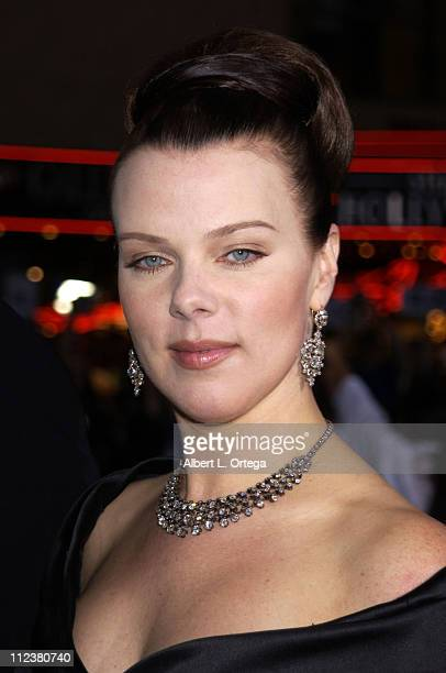 """Debi Mazar during """"The Tuxedo"""" Premiere - Los Angeles at Mann's Chinese Theatre in Hollywood, California, United States."""