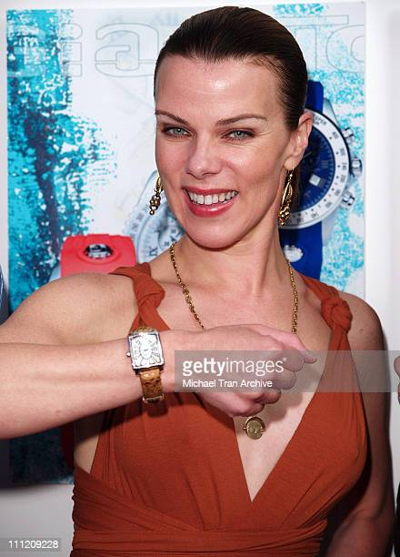 Debi Mazar with Giantto watch during 'A Midsummer Night's Dream' Party Arrivals at Citrine Restaurant in West Hollywood California United States