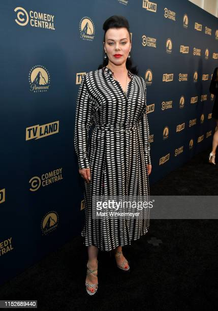Debi Mazur from 'Younger' attends the Comedy Central, Paramount Network and TV Land summer press day at The London Hotel on May 30, 2019 in West...