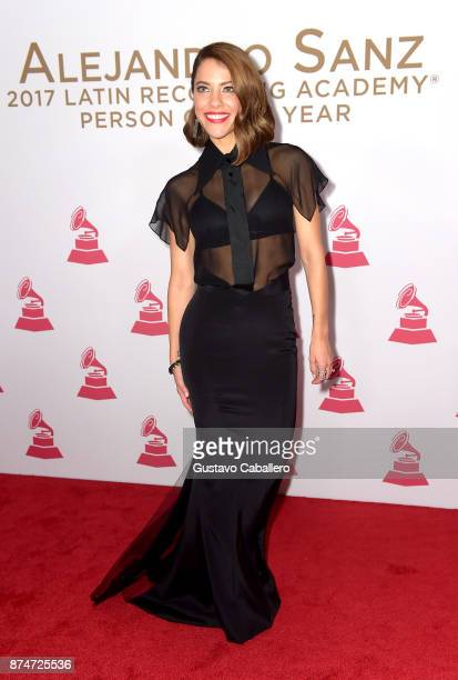 Debi Nova attends the 2017 Person of the Year Gala honoring Alejandro Sanz at the Mandalay Bay Convention Center on November 15, 2017 in Las Vegas,...