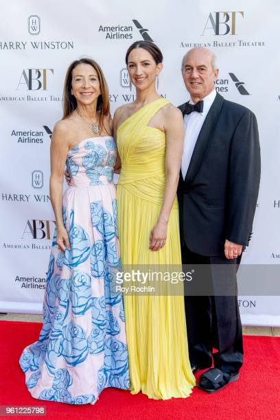 Debi Silber with Kara Medoff Barnett and Jeff Medoff attend the 2018 American Ballet Theatre Spring Gala at The Metropolitan Opera House on May 21...