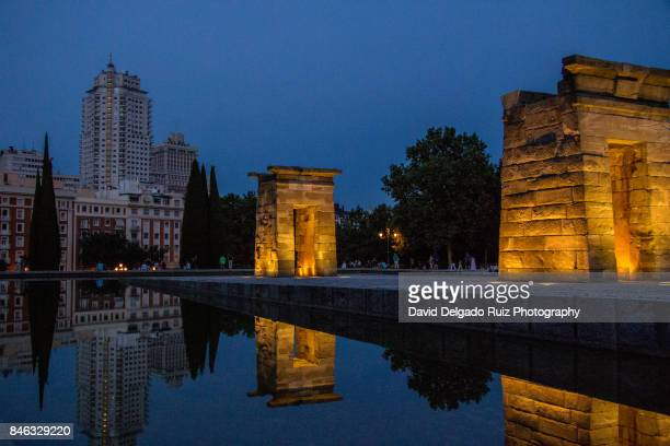 Debod Egyptian Temple, Madrid