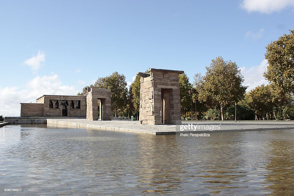 Debod temple : Foto de stock