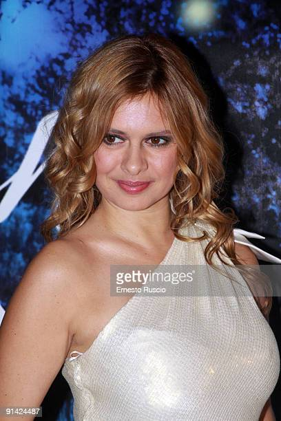 Debora Caprioglio attends the 2009 Golden Graal Awards Ceremony at the Teatro Olimpico on October 4, 2009 in Rome, Italy.