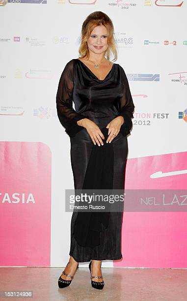 Debora Caprioglio attends the ' RomaFictionFest 2012 Opening Ceremony' at Auditorium Parco Della Musica on September 30 2012 in Rome Italy