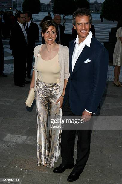 Debora Compagnoni and Alessandro Benetton during Foundation CINI Party June 8 2007 at Foundation CINI in Venice Italy