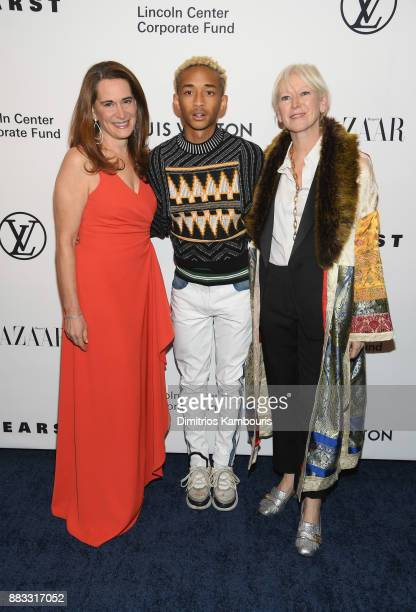 Debora L Spar Jaden Smith and Joanna Coles attend An Evening Honoring Louis Vuitton and Nicolas Ghesquiere at Alice Tully Hall at Lincoln Center on...