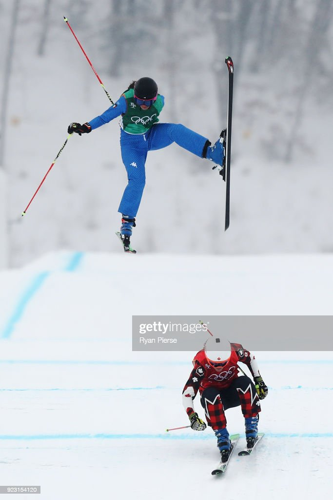 KOR: Freestyle Skiing - Winter Olympics Day 14