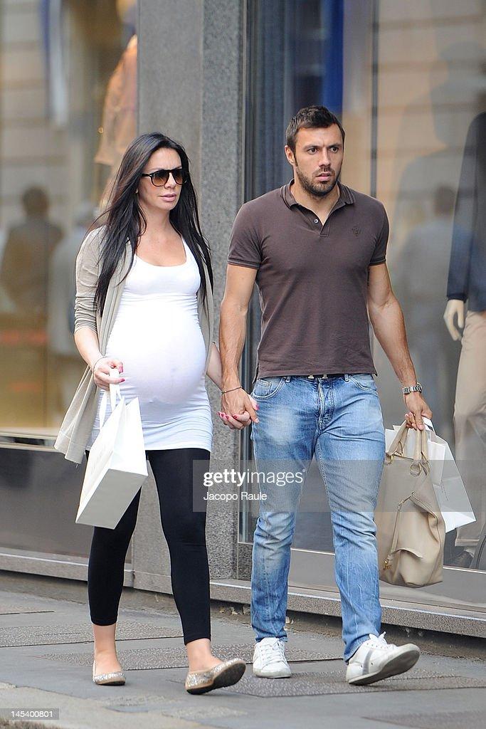 Celebrity Sightings In Milan - May 28, 2012