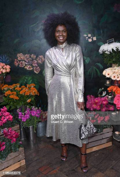 Deborah Ababio attend the gala dinner in honour of Edward Enninful winner of the Global VOICES Award 2019 during #BoFVOICES on November 22 2019 in...
