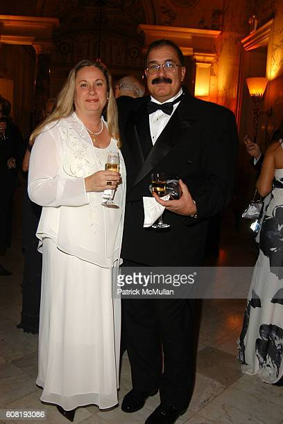 Deborah Almeida and John Almeida attend STEVEN ANGELA KUMBLE'S Wedding Celebration at Metropolitan Club on April 13 2007 in New York City