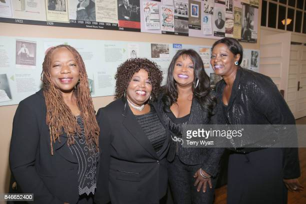 Deborah Ann Regina and Alfreda McCrary of The McCrary Sisters attend the 2017 Americana Music Association Honors Awards on September 13 2017 in...