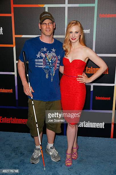 Deborah Ann Woll and EJ Scott arrive to Entertainment Weekly's Annual Comic Con Celebration during ComicCon International 2014 at Float at Hard Rock...
