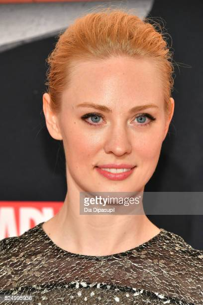 "Deborah Ann Woll attends the ""Marvel's The Defenders"" New York Premiere at Tribeca Performing Arts Center on July 31, 2017 in New York City."