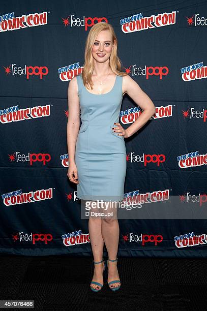 "Deborah Ann Woll attends the Netflix Original Series ""Marvel's Daredevil"" New York Comic-Con Panel & Cast Signing at the Javits Center on October 11,..."
