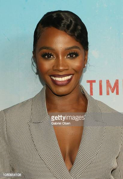 Deborah Ayorinde attends the premiere of HBO's 'True Detective'... News Photo | Getty Images