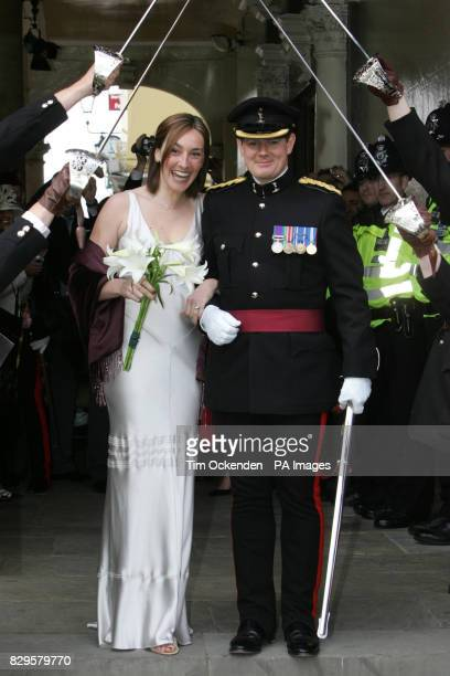Deborah Biltcliffe and Tom Crapper are the second couple to tie the knot following the marriage between the Prince of Wales and Camilla Parker Bowles...