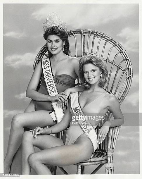 Deborah CarthyDeu who currently holds the title of Miss Universe and Christie Fichtner who was crowned Miss USA in May will participate in The 1986...