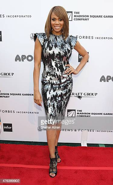 Deborah Cox attends the 10th Annual Apollo Theater Spring Gala at The Apollo Theater on June 8 2015 in New York City