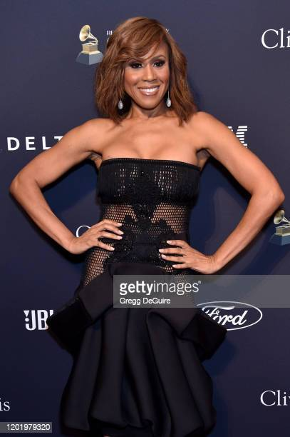 """Deborah Cox attends the Pre-GRAMMY Gala and GRAMMY Salute to Industry Icons Honoring Sean """"Diddy"""" Combs on January 25, 2020 in Beverly Hills,..."""
