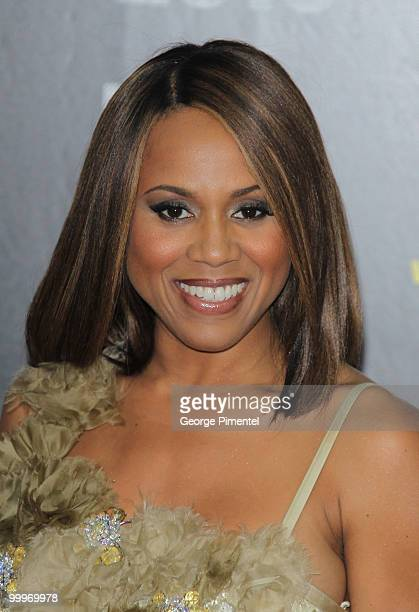 Deborah Cox attends the World Music Awards 2010 at the Sporting Club on May 18, 2010 in Monte Carlo, Monaco.
